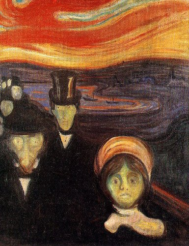 Edward Munch, 'Anxiety' (1894)