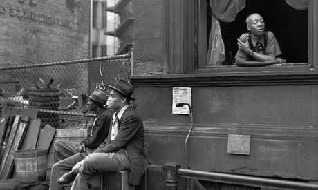 Henri Cartier-Bresson's Harlem (1947). Photograph: Magnum Photos