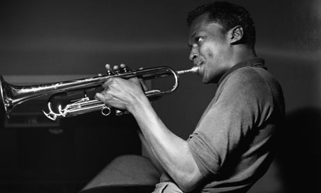 Miles Davis circa 1950. Photograph: Francis Wolff/Corbis
