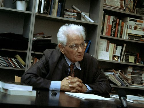 Writer, thinker, philosopher Jacques Derrida