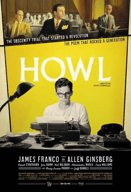 James Franco as Allen Ginsberg in Howl. Promotional Poster