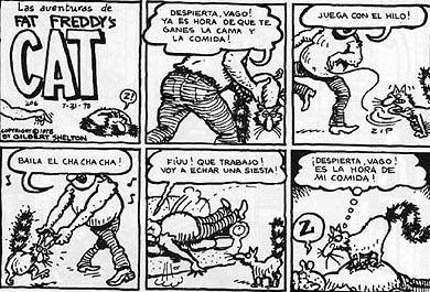Gilbert Shelton, Fat Freddy's Cat