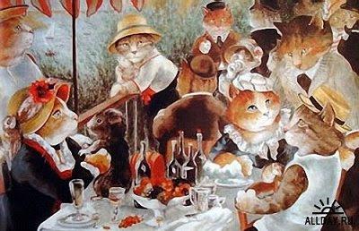 El almuerzo de los remeros, Auguste Renoir