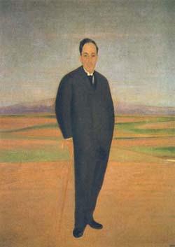 Cristóbal Ruiz, Retrato de Antonio Machado