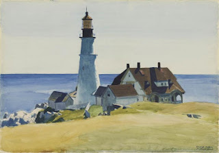 Lighthouse and Buildings, Portland Head, Cap Elizabeth, Maine, 1927