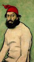 Retrato de Pere Romeu por Ramón Casas