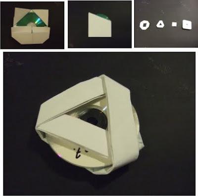 architectural design origami cd case