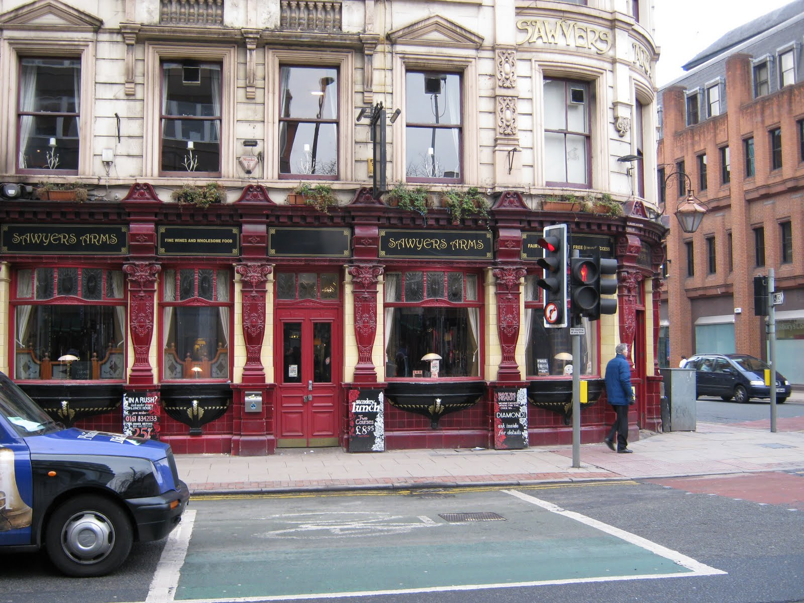Manchester Arms Pub Sawyer's