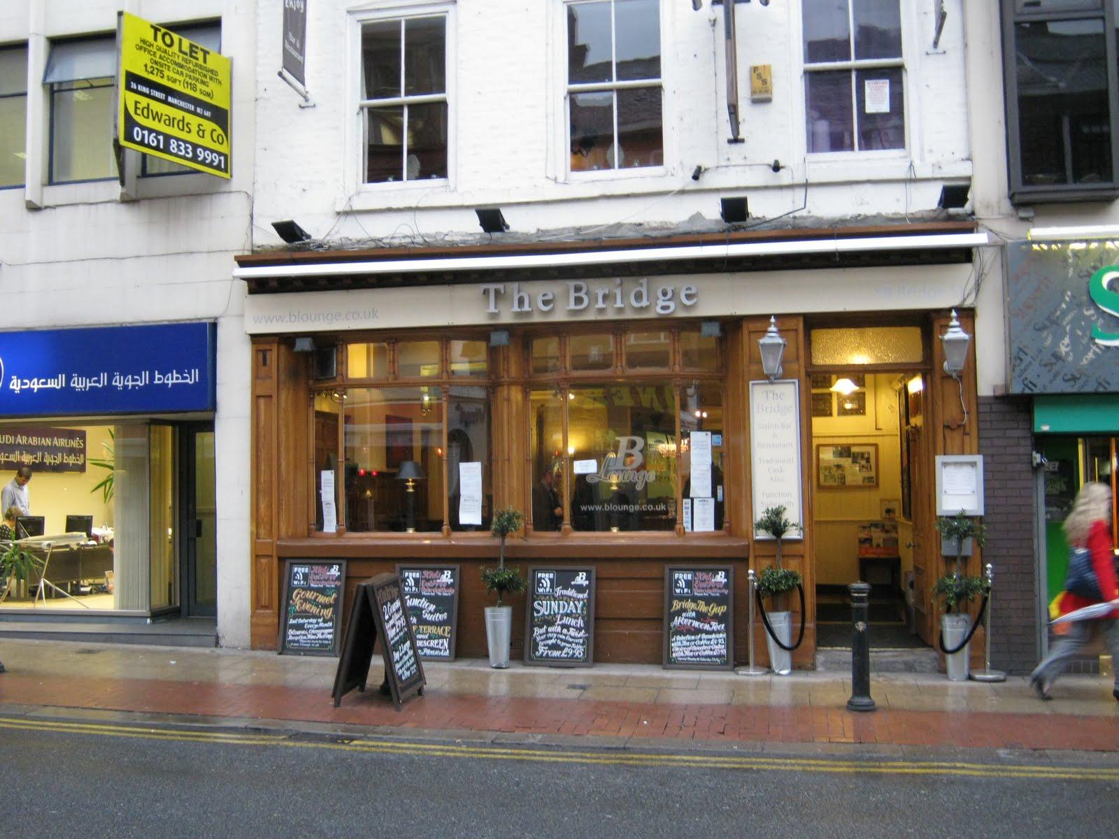 Pubs of Manchester: 046. Bridge / Bridge Street Tavern / Goblets ...