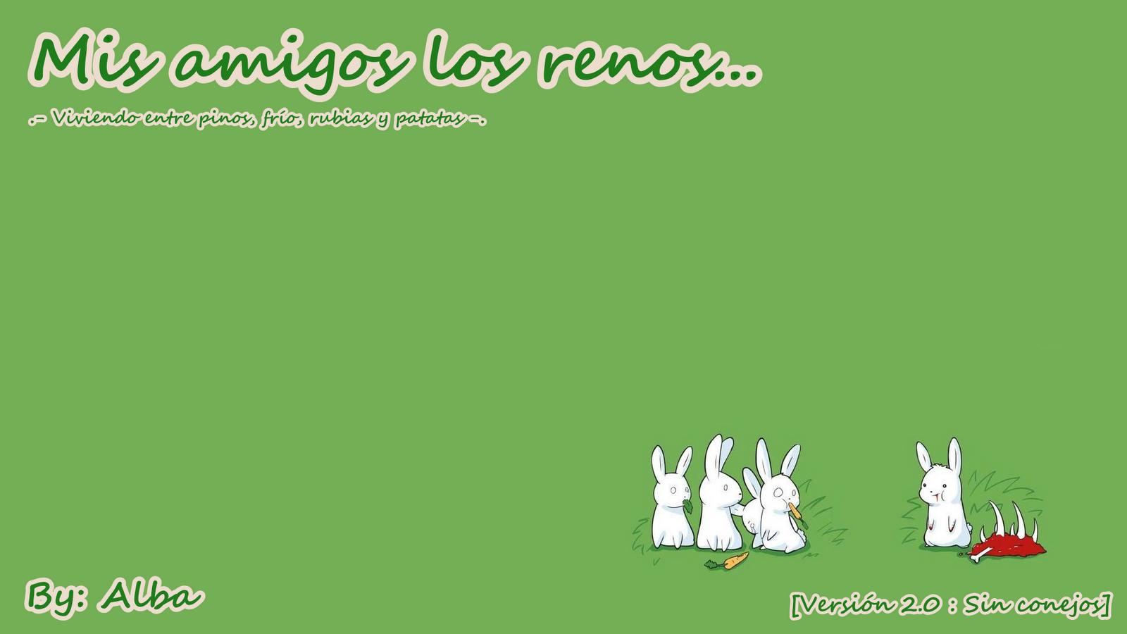 Mis amigos los renos :D