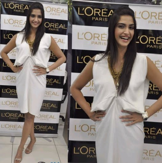 Sonam Kapoor L'oreal Golden Girl launch
