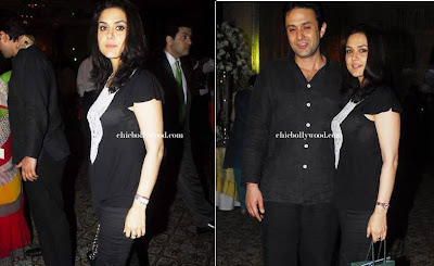 Preity Zinta Ness Wadia rolex party