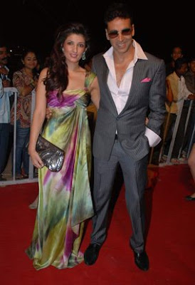 Akshay Kumar Twinkle Khanna Star Screen Awards