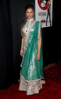 Deepika Padukone Chandni Chowk to China New York premiere