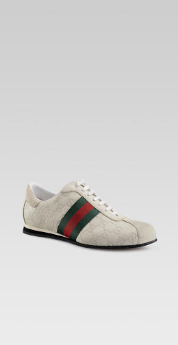 Gucci white logo sneakers