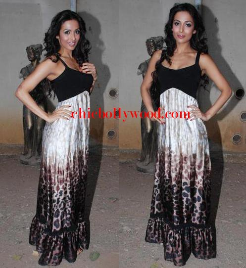 Malaika Arora Khan maxi dress photoshoot