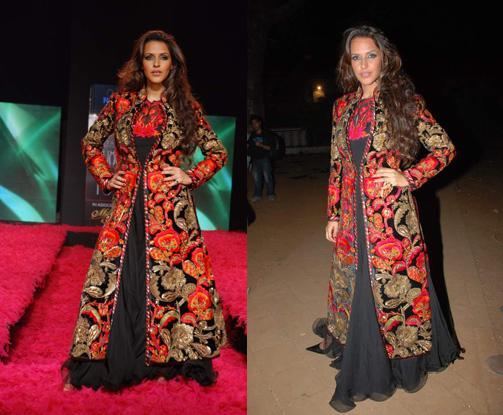 Neha Dhupia Rohit Bal Show Gitanjali 09 Lifestyle Luxury Style Fest