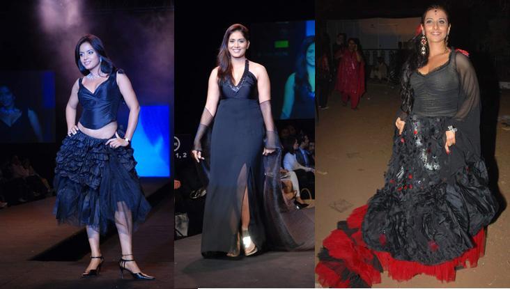 Neetu Chandra Sonali Kulkarni Vidya Balan Ritu Beri Wendell Rodericks 09Gitanjali Lifestyle Luxury Fest