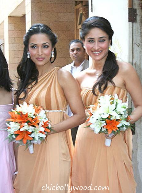 Kareena Kapoor Malaika Arora Khan bridesmaids Amrita Arora wedding