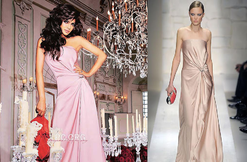 Priyanka Chopra LOfficiel Salvatore Ferragamo gown