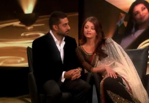 Aishwarya Rai Oprah Winfrey show Sabyasachi saree