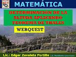 WEBQUEST: TRABAJOS DE INVESTIGACION DE MATEMATICA_Edken