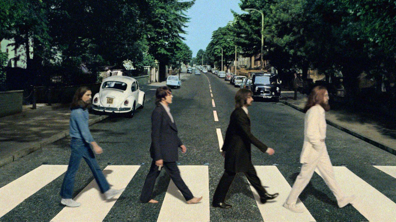 Fotos de los beatles cruzando la calle 59