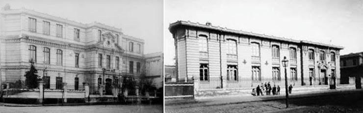 Antiguo Pedagógico (Alameda) y Liceo de Aplicación para los nuevos profesores de Estado
