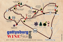 Check out Gettysburg's Wine and Fruit Trail