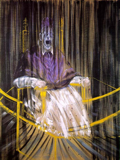 Francis Bacon- retrato do papa Inocêncio