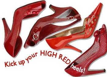 Heart High Heel Shoes