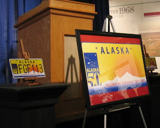 Akpl8s the alaskan license plate blog statehood plate kick off i attended the official kick off of the alaska statehood license plate at the alaska museum of history and art finding myself among senators the governor solutioingenieria Images