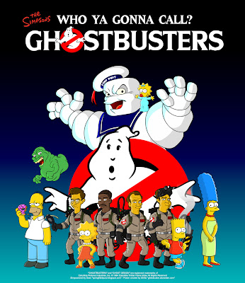Springfield Punx: Ghostbusters Poster