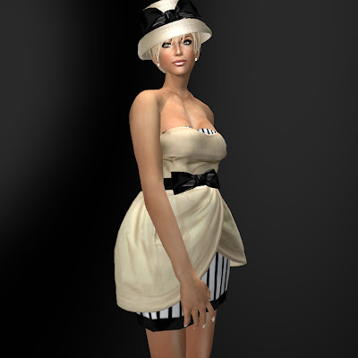 Site Blogspot  Clearance Dresses on Coco Designs    Second Life Fashion  New Release   Tulip Hem Dress