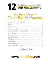 12 More Advanced Song Arrangements Book