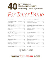 40 Easy Reading Song Arrangements -  Book