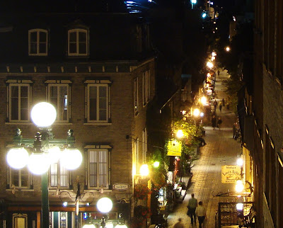quebec city night