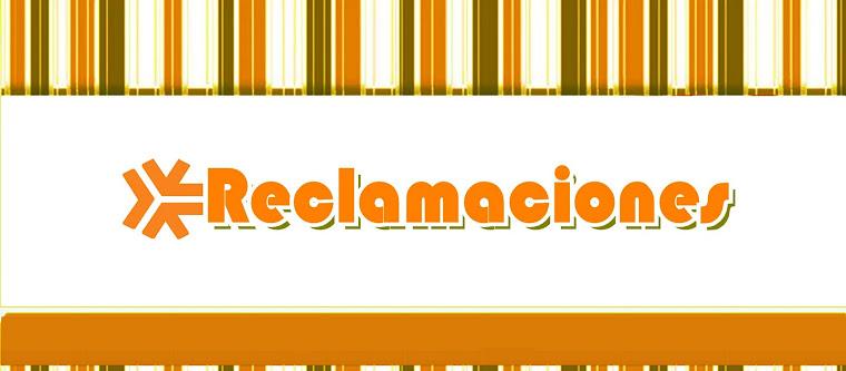 OMIC -  Reclamaciones -