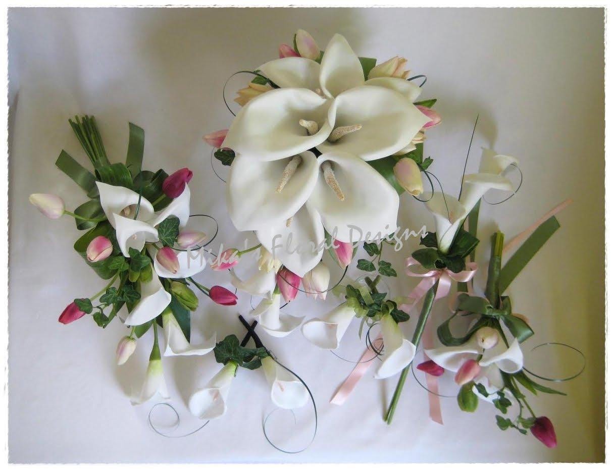 Wedding Flower Arrangements With Lilies : Artificial wedding flowers and bouquets australia flower arrangements of calla lilies