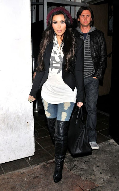 Kim K-Style-fashionablyfly.blogspot.com