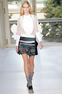 Jen Connelly-Balenciaga Skirt-fashionablyfly.blogspot.com