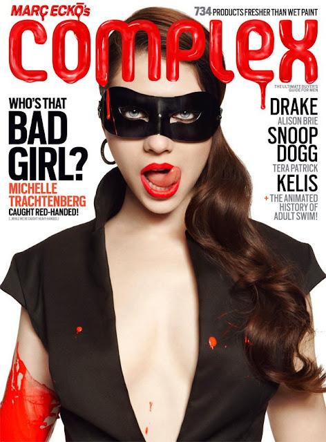 Michelle Trachtenberg+Drake+Complex Mag--Fashionablyfly.blogspot.com