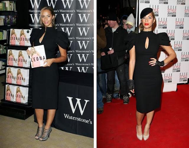 Leona Lewis+McQueen+Elle Style Award+fashionablyfly.blogspot.com