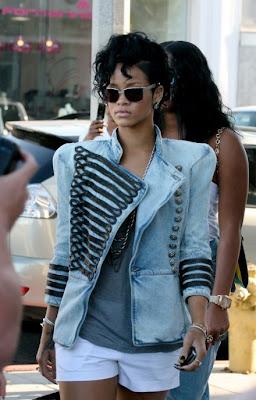 Rihanna Jacket FashionablyFly.blogspot.com
