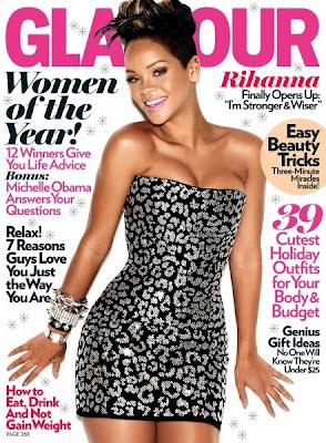 Rihanna Glamour Magazine FashionablyFly.blogspot.com