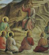 Jesús predicando a sus discipulos