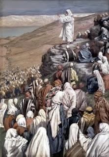 El Sermón de las Bienaventurzanzas (1886-96) por James Tissot