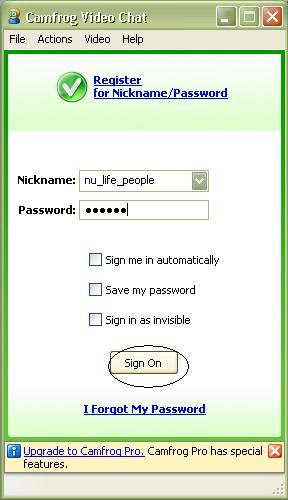 Cara Menggunakan Camfrog Free Video Chat Rooms