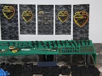 Arsenal decomisado en Mazamitla, Secuestros y Asaltos