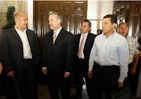 Gobernador con Presidentes del PRD
